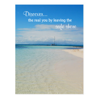 Self Discovery Encouragement Inspiring Quote Postcard