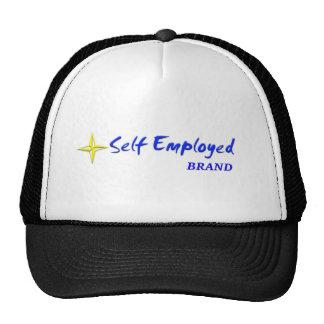 SELF EMPLOYED B/G TRUCKER HAT
