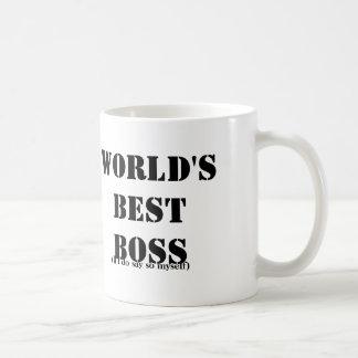 Self-Employed Best Boss Basic White Mug