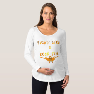 Self-Harm Rock Star Maternity Long Sleeve Shirt