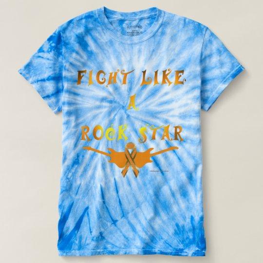 Self-Harm Rock Star Men's Tie-Dye T-shirt