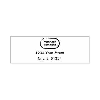 Self Inking Return Address Stamp With Logo