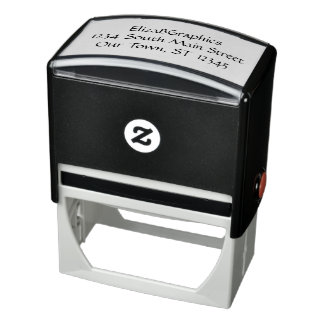 Self-inking Rubber Stamp for my business