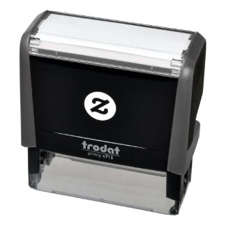 Self-inking rubber stamps Choose Colour Add Text