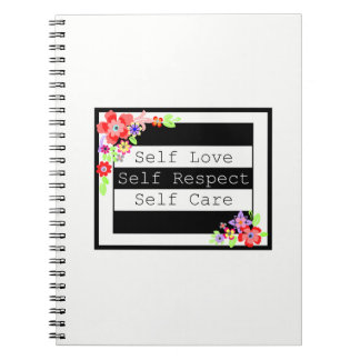 """""""Self Love"""" Gorgeous Floral Notebook. Notebook"""