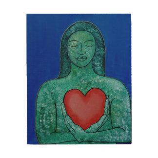 Self Love Wood Wall Panel