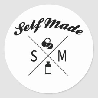 Self Made Logo Sticker