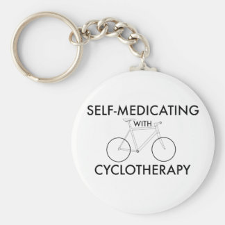 Self-medicating with cyclotherapy keychain