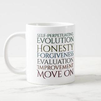 Self Perpetuating Evolution Keys to Honesty Large Coffee Mug