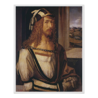 Self-Portrait, 1498 Print