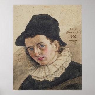 Self Portrait, 1591 Poster