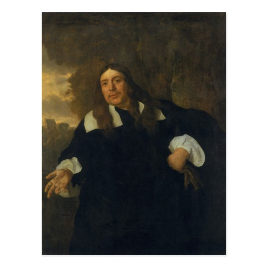 Self Portrait, 1662 Postcard
