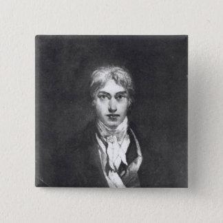 Self portrait, 1798 2 inch square button