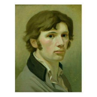 Self-portrait, 1802 postcard