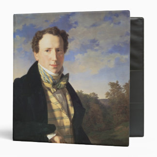 Self portrait, 1828 vinyl binders