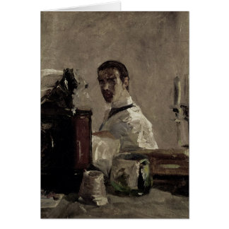 Self Portrait, 1880 Card