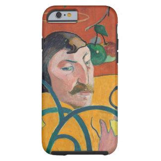 Self-Portrait, 1889 (oil on wood) Tough iPhone 6 Case