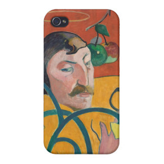 Self-Portrait, 1889 (oil on wood) iPhone 4/4S Cases