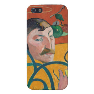 Self-Portrait, 1889 (oil on wood) iPhone 5 Cases