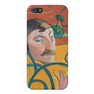 Self-Portrait, 1889 (oil on wood) iPhone 5/5S Covers