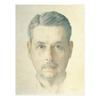 Self Portrait, 1921 Postcard