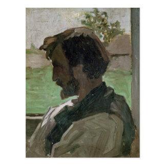 Self Portrait at Saint-Saveur, 1868 Postcard