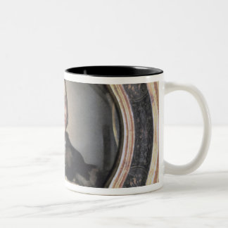 Self Portrait at the Mirror Two-Tone Coffee Mug