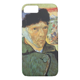 Self Portrait, Bandaged Ear by Vincent van Gogh iPhone 8/7 Case