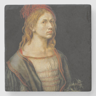 Self Portrait by Albrecht Durer 1493 Stone Coaster
