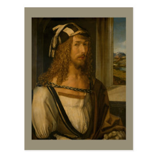 Self-portrait by Albrecht Durer Postcard
