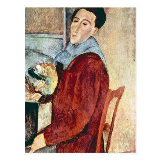 Self Portrait by Amedeo Modigliani Post Cards