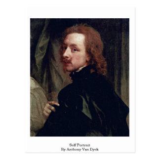 Self Portrait By Anthony Van Dyck Postcard