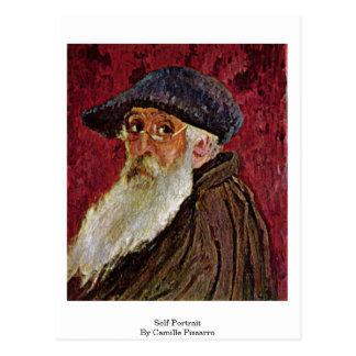Self-Portrait By Camille Pissarro Postcard