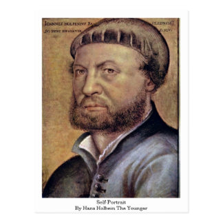 Self-Portrait By Hans Holbein The Younger Postcard