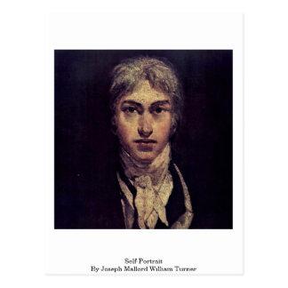 Self-Portrait By Joseph Mallord William Turner Postcard