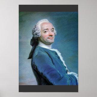 Self-Portrait By La Tour Maurice Quentin De (Best Poster