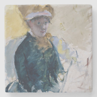 Self-Portrait by Mary Cassatt Stone Coaster