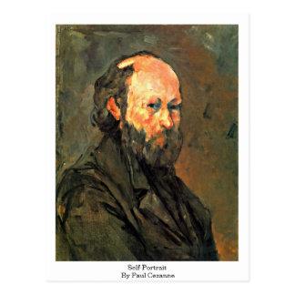 Self-Portrait By Paul Cezanne Postcard