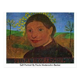 Self-Portrait By Paula Modersohn-Becker Postcard