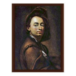 Self-Portrait,  By Peter Johannes Brandl Postcard