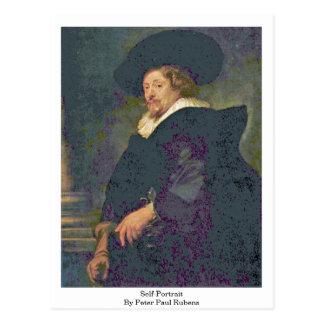 Self-Portrait By Peter Paul Rubens Postcard