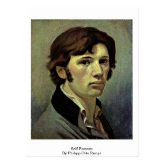 Self-Portrait By Philipp Otto Runge Postcard