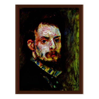 Self-Portrait By Pierre-Auguste Renoir Postcard