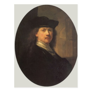 Self-portrait by Rembrandt Postcard