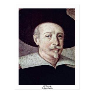 Self-Portrait By Reni Guido Postcard