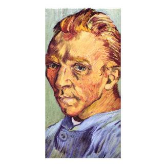 Self-Portrait by Vincent van Gogh Personalized Photo Card