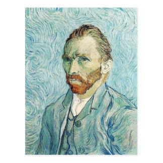 Self Portrait by Vincent Van Gogh Postcard