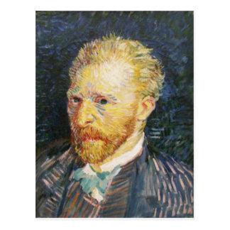 Self-Portrait by Vincent van Gogh Postcard