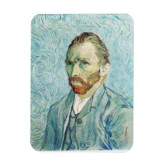 Self Portrait by Vincent Van Gogh Rectangular Photo Magnet