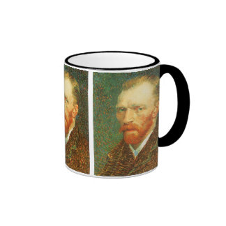 Self Portrait by Vincent van Gogh Ringer Coffee Mug